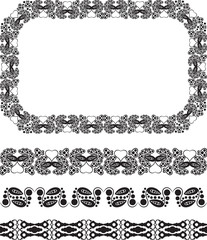 Design frame and borders