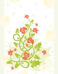 Elegance Revival floral background