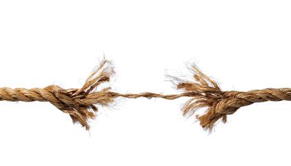 Fototapeta Frayed Rope about to Break obraz