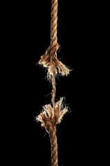 Rope Breaking Apart