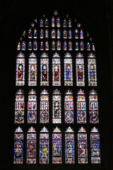 Canterbury stain glass