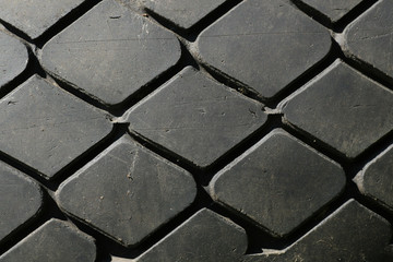 Old tyre background
