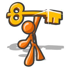Orange Man Key to Success
