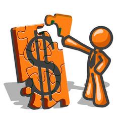 Orange Man Financial Puzzles