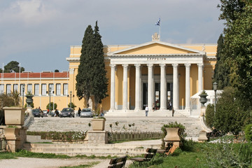 Zappeion Building in Athens
