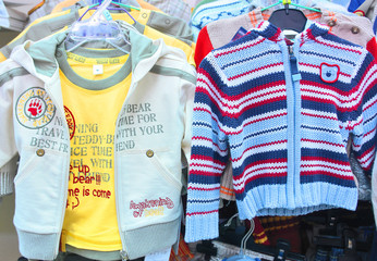 boys' jacket and sweater