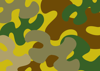 Wall Mural - camouflage pattern