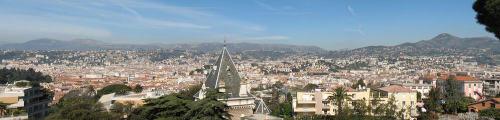 Nice : Panorama de la ville