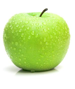 ripe juicy apple