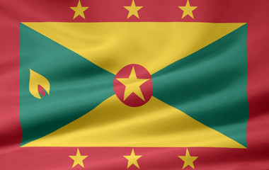 Grenadische Flagge