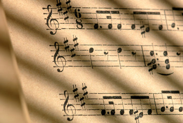 One Hundred Year Old Sheet Music