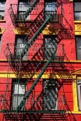 Foto op Plexiglas Trappen new york,emergency ,stairway