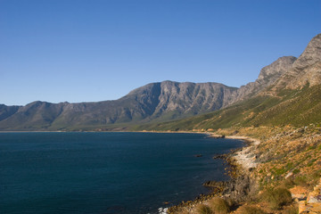 False Bay coastline