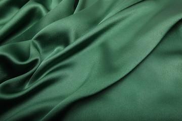 green satin cloth