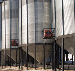 Close-up Grain Elevator