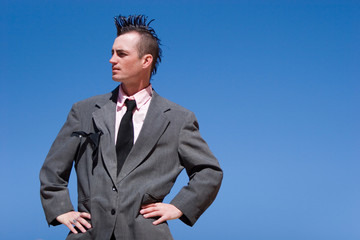 Alternative businessman