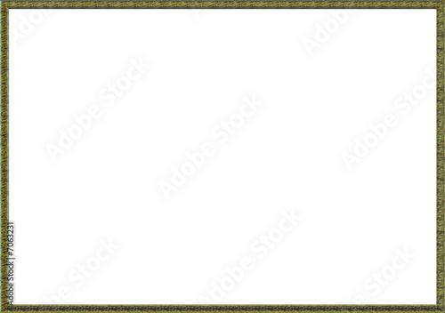 grand cadre dor photo libre de droits sur la banque d 39 images image 7063231. Black Bedroom Furniture Sets. Home Design Ideas