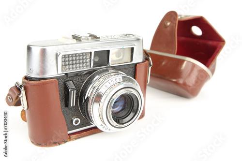 appareil photo argentique ancien photo libre de droits sur la banque d 39 images. Black Bedroom Furniture Sets. Home Design Ideas