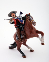 Musketeer figure