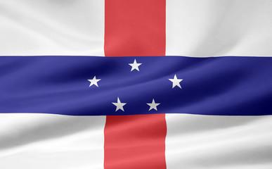 Niederländische Antillen Flagge