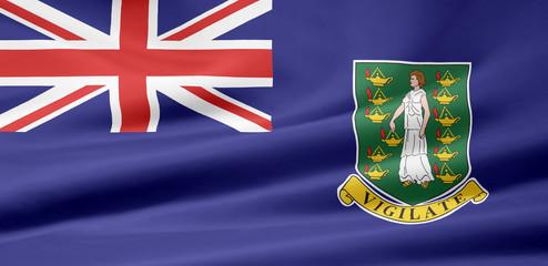 Britische Jungferninsel Flagge