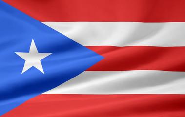 Puertoricanische Flagge