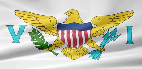 Amerikanische Junferninseln Flagge