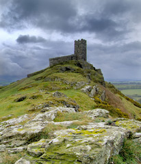 Brentor church, Devon, England