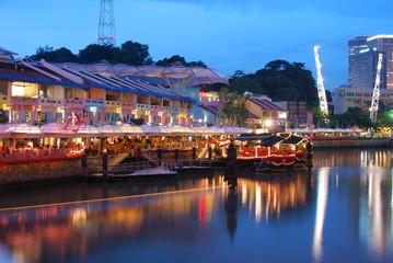 Foto op Plexiglas Singapore Clarke Quay