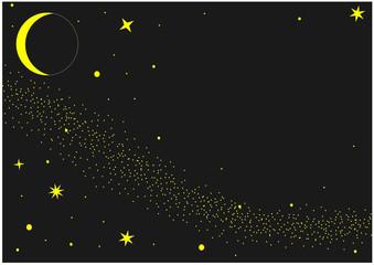 vector of dreams night sky