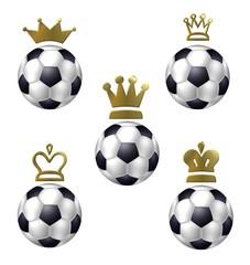 könig fussball - kronen