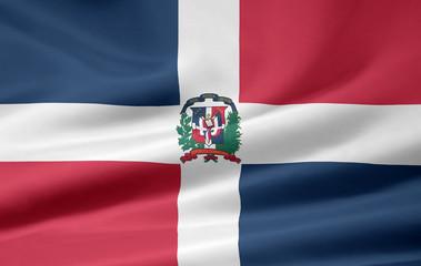 Dominikanische Flagge