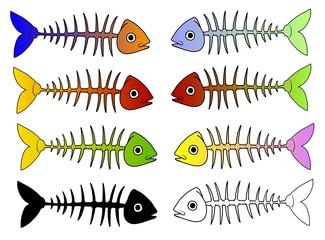 lische di pesce