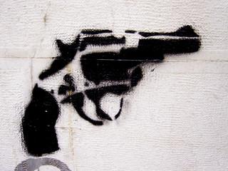 graffiti revolver