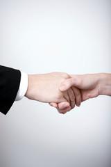 woman handshake