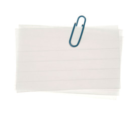 Lined Notes With Clip