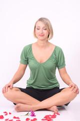 Photo sur Toile Ecole de Yoga Meditation - Wellness - Woman