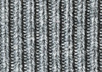Gray Jumper Close-up