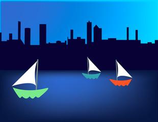 Sailboat Skyline