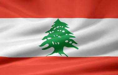 Libanesische Flagge