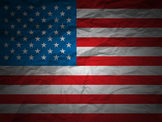 grunge background USA flag
