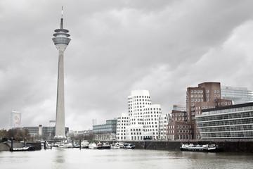 Düsseldorf im Regen
