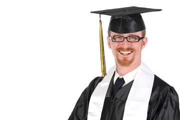 happy graduation a young man