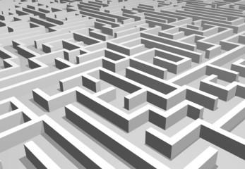 Maze confusion