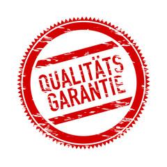 Obraz siegel qualitätsgarantie - fototapety do salonu