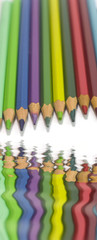 color pencils refflect