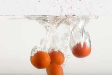 Tomato watersplash