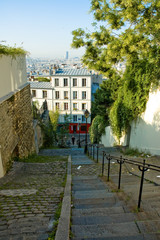 Monmartre Les marches 2