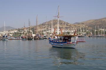 Turkish fishing boat