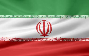 Iranische Flagge